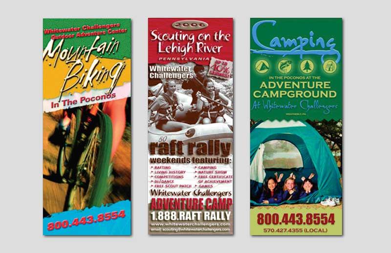brochure designs by Carol Reifsteck