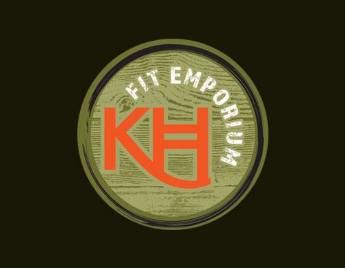 logo design for KH Fit Emporium