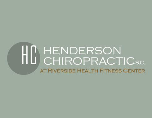 Henderson Chiropractice logo design by Carol Reifsteck