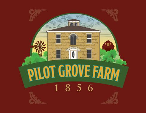 pilot grove logo design by carol reifsteck